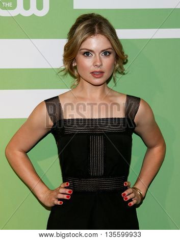 NEW YORK, NY - MAY 14: Actress Rose McIver attends the 2015 CW Network Upfront Presentation at the London Hotel on May 14, 2015 in New York City.