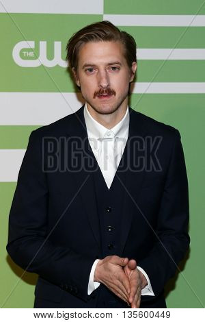 NEW YORK, NY - MAY 14: Actor Arthur Darvill attends the 2015 CW Network Upfront Presentation at the London Hotel on May 14, 2015 in New York City.