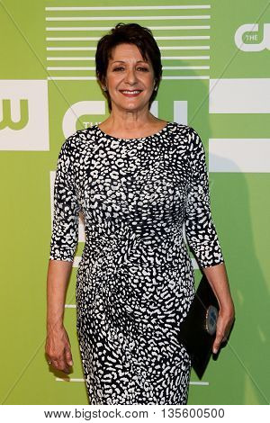 NEW YORK, NY - MAY 14: Actress Ivonne Coll attends the 2015 CW Network Upfront Presentation at the London Hotel on May 14, 2015 in New York City.