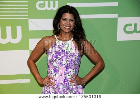 NEW YORK, NY - MAY 14: Actress Andrea Navedo attends the 2015 CW Network Upfront Presentation at the London Hotel on May 14, 2015 in New York City.