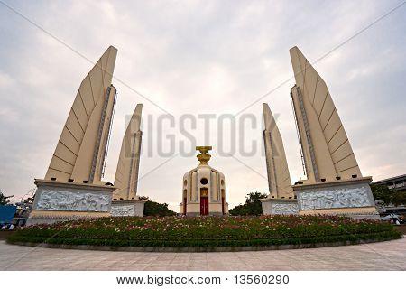 Democracy Monument In  Bangkok, Thailand.