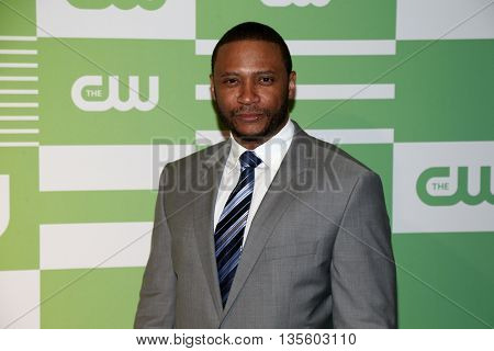 NEW YORK, NY - MAY 14: Actor David Ramsey attends the 2015 CW Network Upfront Presentation at the London Hotel on May 14, 2015 in New York City.