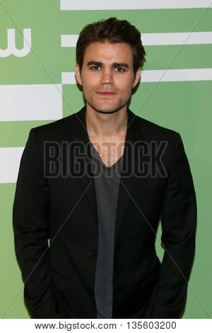 NEW YORK, NY - MAY 14: Actor Paul Wesley attends the 2015 CW Network Upfront Presentation at the London Hotel on May 14, 2015 in New York City.