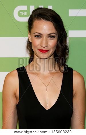 NEW YORK, NY - MAY 14: Actress Kristen Gutoskie attends the 2015 CW Network Upfront Presentation at the London Hotel on May 14, 2015 in New York City.