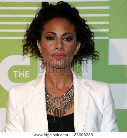 NEW YORK, NY - MAY 14: Actress Christina Moses attends the 2015 CW Network Upfront Presentation at the London Hotel on May 14, 2015 in New York City.