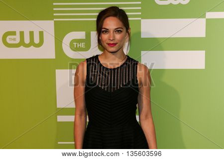 NEW YORK, NY - MAY 14: Actress Kristin Kreuk attends the 2015 CW Network Upfront Presentation at the London Hotel on May 14, 2015 in New York City.
