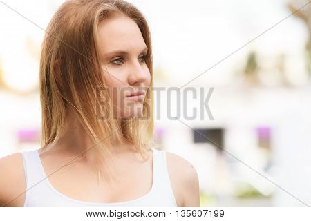 Young Attractive Woman Portrait