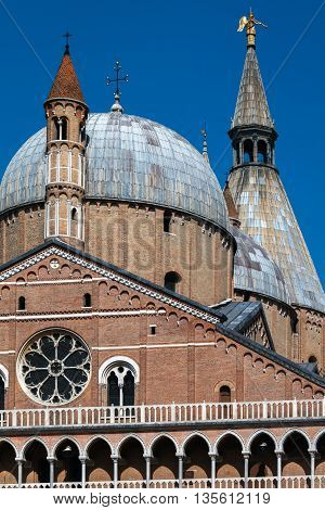 Basilica Of Saint Anthony Of Padua In Padua, Italy