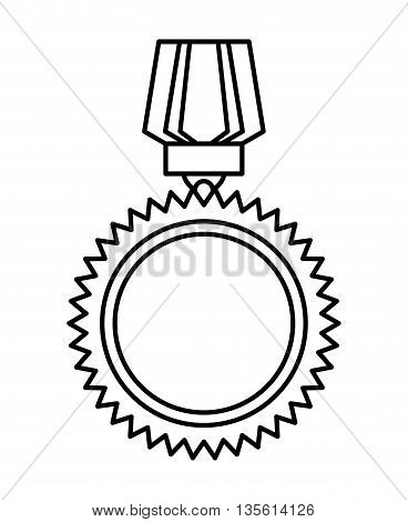 label concept represented by seal stamp icon over isolated and flat background