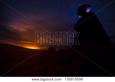 Goblin Valley At Night