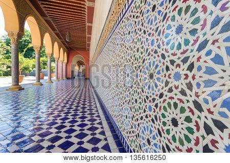 Oriental Pattern Mosaic - Morocco Architecture