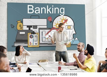Banking Economy Finance Loan Money Concept
