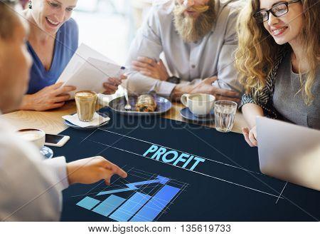 Profit Business Growth Graph Graphic Concept