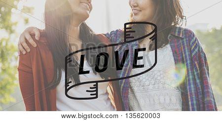 Love Passion Romance Relationship Bonding Emotion Concept