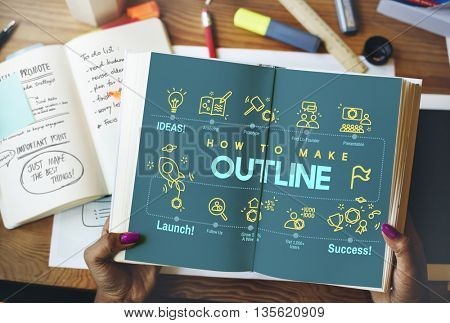 Outline Coach Guide Leader Plan Strategy Lead Concept