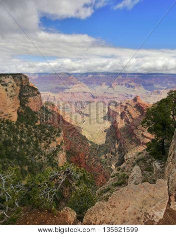 Grand Canyon National Park. Arizona, west USA.