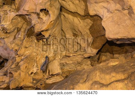 Texture Of Cave Wall Image.