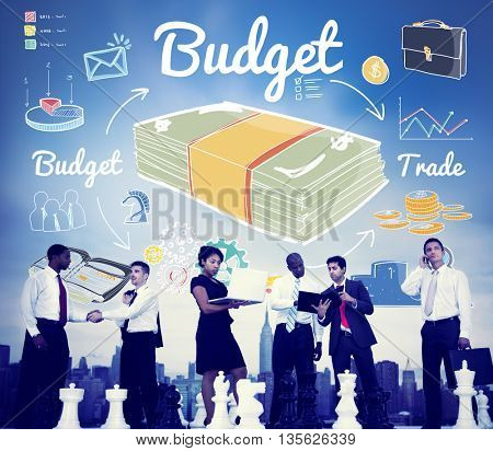 Budget Investment Money Financial Economy Accounting Concept