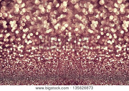 rose gold glitter texture - abstract background