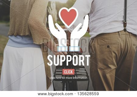 Support Charity Organization Social Help Concept
