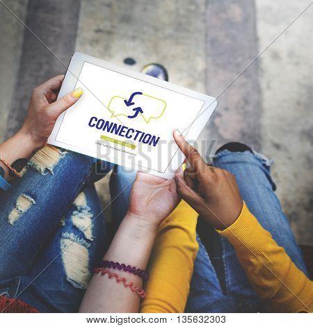 Connection Communication Technology Connect Concept