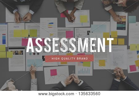 Assessment Analysis Check Audit Management Concept