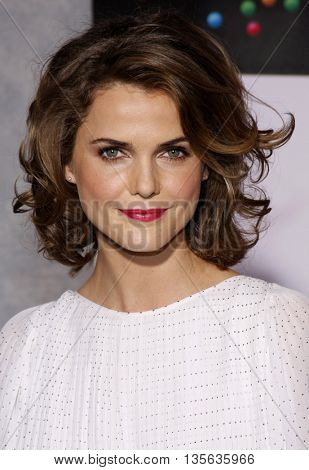 Keri Russell at the Los Angeles premiere of 'Bedtime Stories' held at the El Capitan Theater in Hollywood, USA on December 18, 2008.