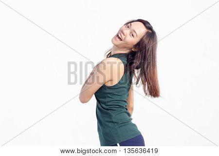 Sexy Thai Girl Sexy Long Hair