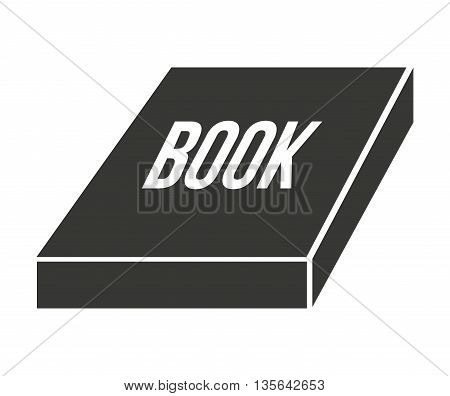 text book isolated icon design, vector illustration  graphic