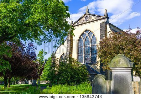 Great Britain Scotland Edinburgh the Greyfriars Kirk.