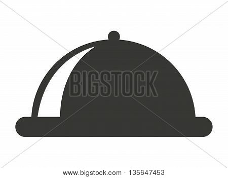 serving tray isolated icon design, vector illustration  graphic