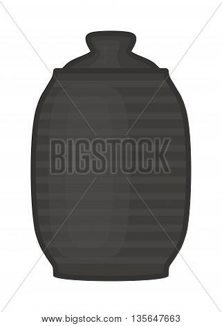 Vector illustration of water or drinks flask. Vector illustration of flask. Jar of water use in the campaign flask. Alcohol or drink bottle container.