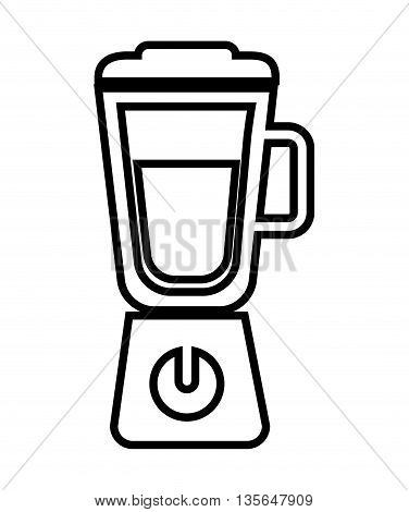 blender isolated icon design, vector illustration  graphic