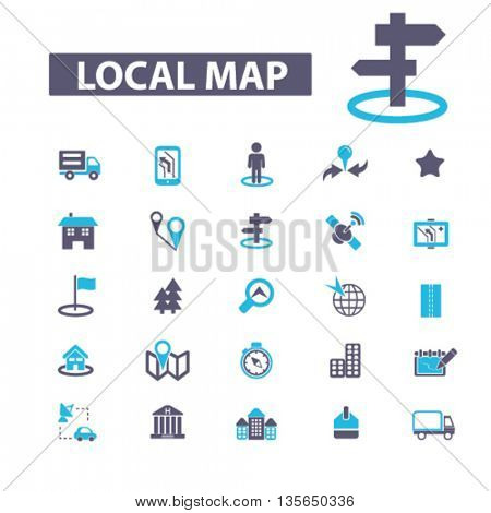 local map icons