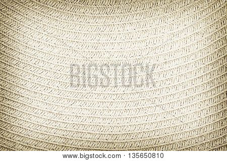 Woven straw background or texture and shadow..