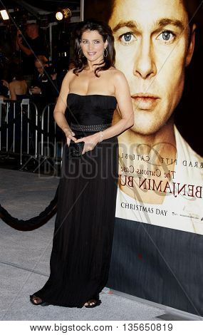 Julia Ormond at the Los Angeles premiere of 'The Curious Case of Benjamin Button' held at the Mann Village Theater in Westwood, USA on December 8, 2008.