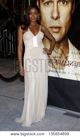 Faune Chambers at the Los Angeles premiere of 'The Curious Case of Benjamin Button' held at the Mann Village Theater in Westwood, USA on December 8, 2008.