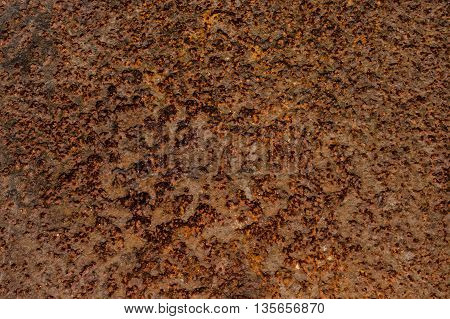 Old Metal Steel  With Rust Texture, Rusted Steel Background