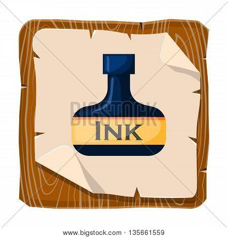 Vector Ink Bottle