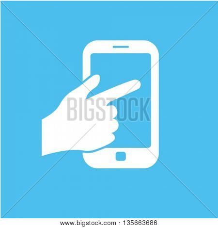 touch phone icon