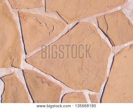 Decorative exterior Stone wall suitable for background.