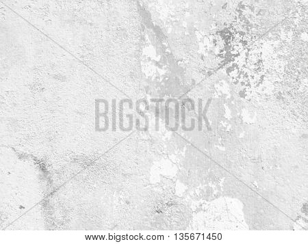 Grey wall background - abstract light grunge texture