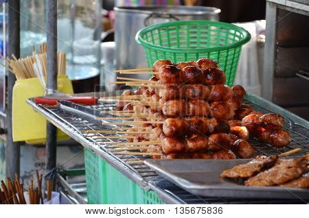 Sausages In Thailand,