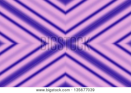 Illustration of a dark blue and pink x-pattern