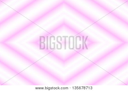 Illustration of a pink and white rhombus