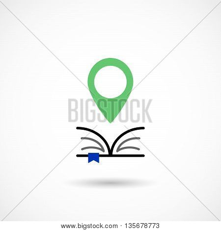 Vector illustration of an Education Tag on white background