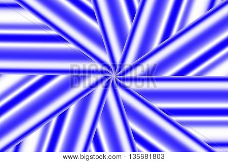 Illustration of a dark blue and white star pattern