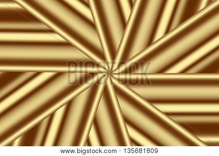 Illustration of a brown and vanilla colored star pattern