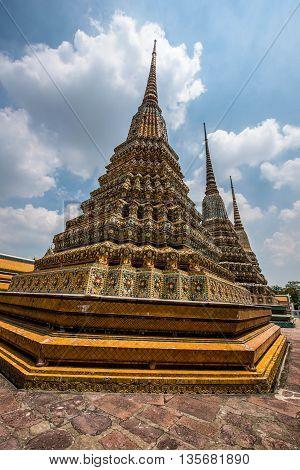 Wat Pho Scenic View - Bangkok Thailand
