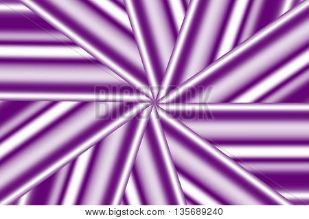 Illustration of a purple and white star pattern